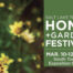home and garden festival infographic