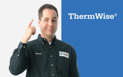 Therm pointing to his head